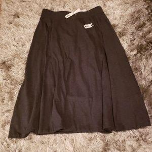 NWT Small Nike Sportswear A Line Gray Skirt
